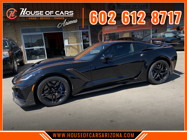 Pre-Owned 2019 Chevrolet Corvette ZR1 Coupe 2D