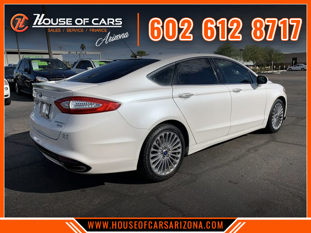 Pre-Owned 2015 Ford Fusion Titanium Sedan 4D