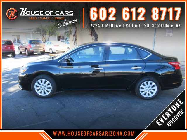 Pre-Owned 2018 Nissan Sentra S Sedan 4D