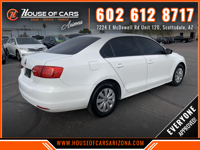 Pre-Owned 2014 Volkswagen Jetta 2.0L S Sedan 4D