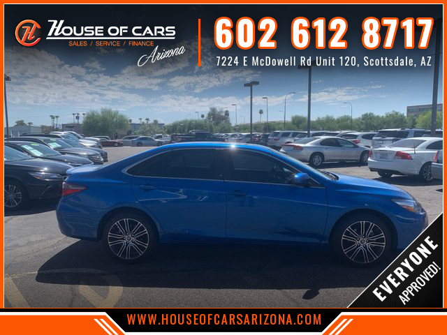 Pre-Owned 2016 Toyota Camry SE Special Edition Sedan 4D