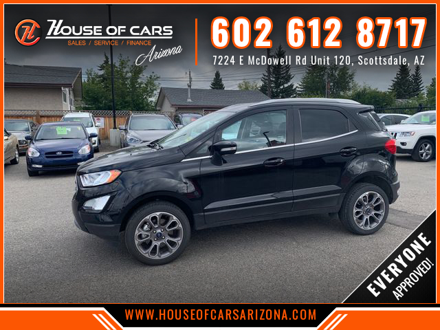Pre-Owned 2018 Ford EcoSport Titanium Sport Utility 4D