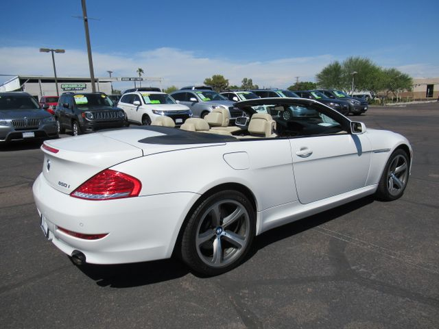 2010 Bmw 650i >> Pre Owned 2010 Bmw 6 Series 650i Convertible 2d Rwd Convertible