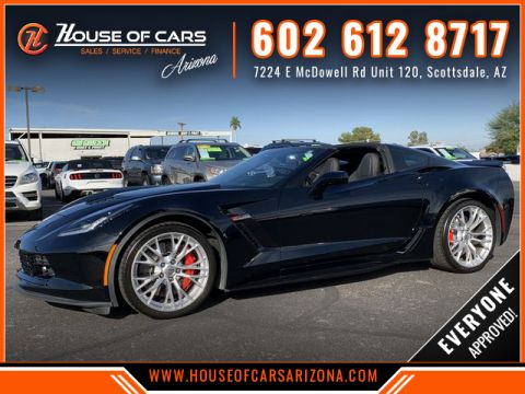 Pre-Owned 2017 Chevrolet Corvette Z06 Coupe 2D