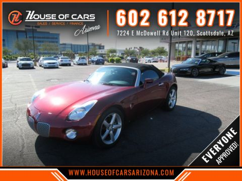 Pre-Owned 2009 Pontiac Solstice Convertible 2D
