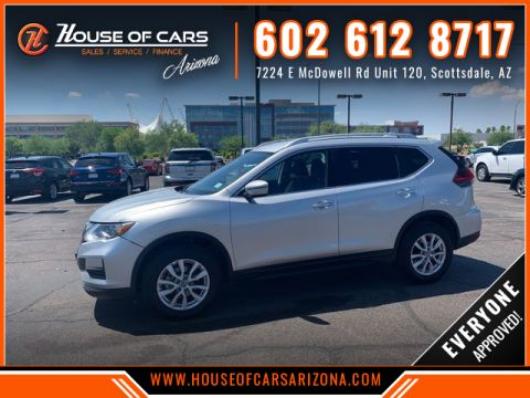 Pre-Owned 2018 Nissan Rogue SV Sport Utility 4D